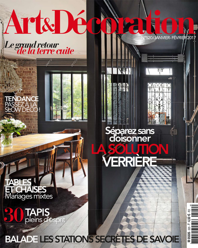 Art and Decoration magazine January and February 2017