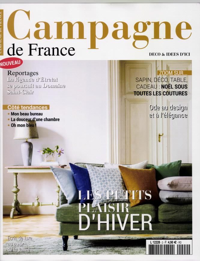 Campagne magazine November and December 2016