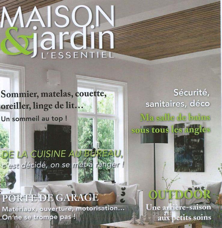 Maison & jardins l'essentiel november 2015