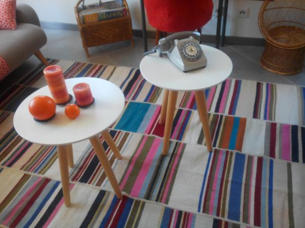 My Beel occasional tables!