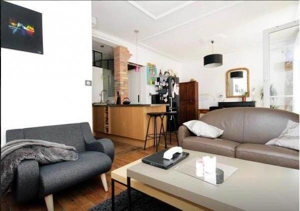 Black Geneva armchair