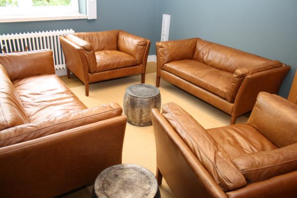 My new leather furniture