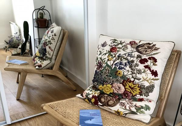 Thisted cane armchair
