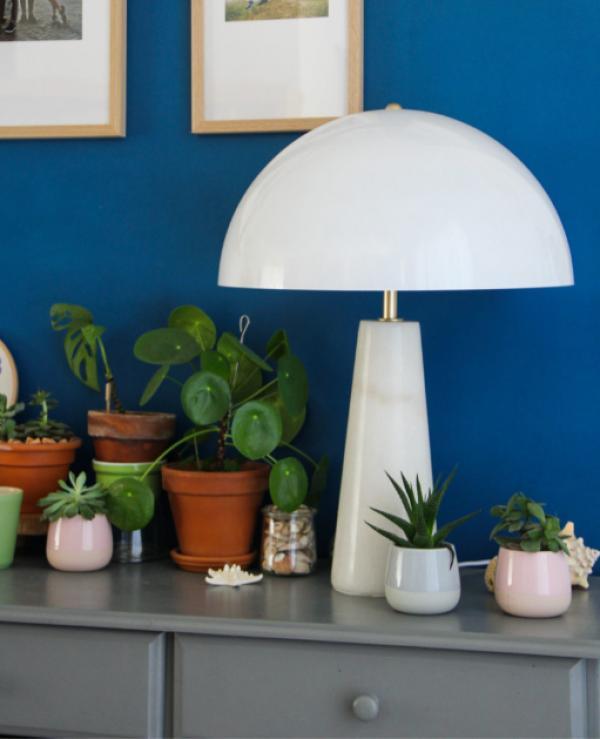 Marble lamp Boissoudy