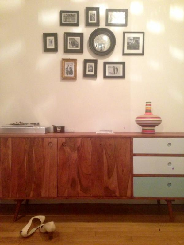 My Stockholm Sideboard is perfect in the entrance. After one year together I still love it that much.