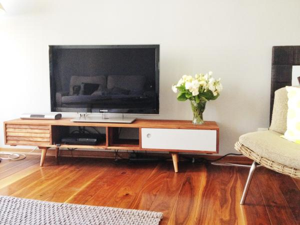The Stockholm TV console is wonderful. Perfect for our living room!