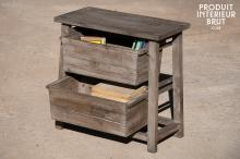POSTY STREET STOOL WITH DRAWERS