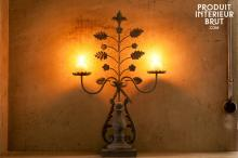 CHANTECLAIR TWO-ARM CHANDELIER