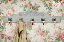 CERAMIC DECORATED COAT RACK