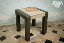RECYCLED TEAK OCCASIONAL TABLE