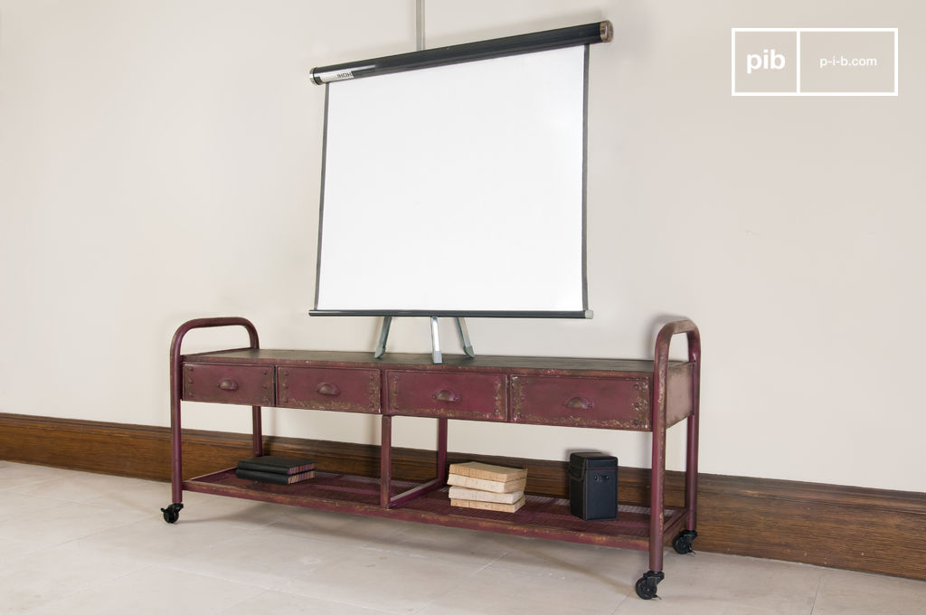 Industrial Tv Console A Practical And Robust Cabinet Pib