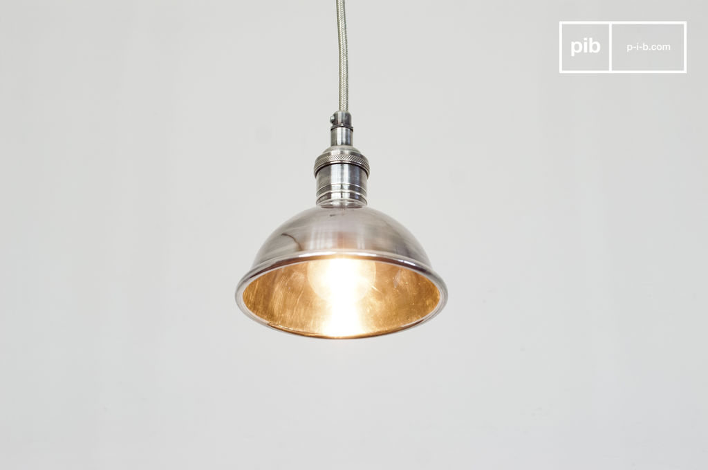 Small Silver-plated Pendant Light - Ideal Backup Light