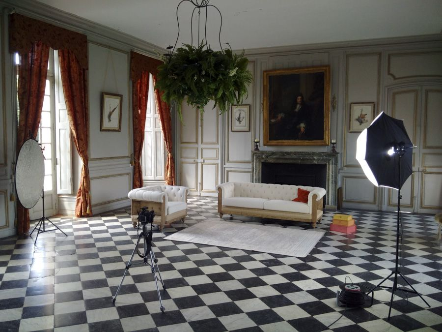 Is there a better way to find a Shabby Chic style than shooting in a 17th century castle?