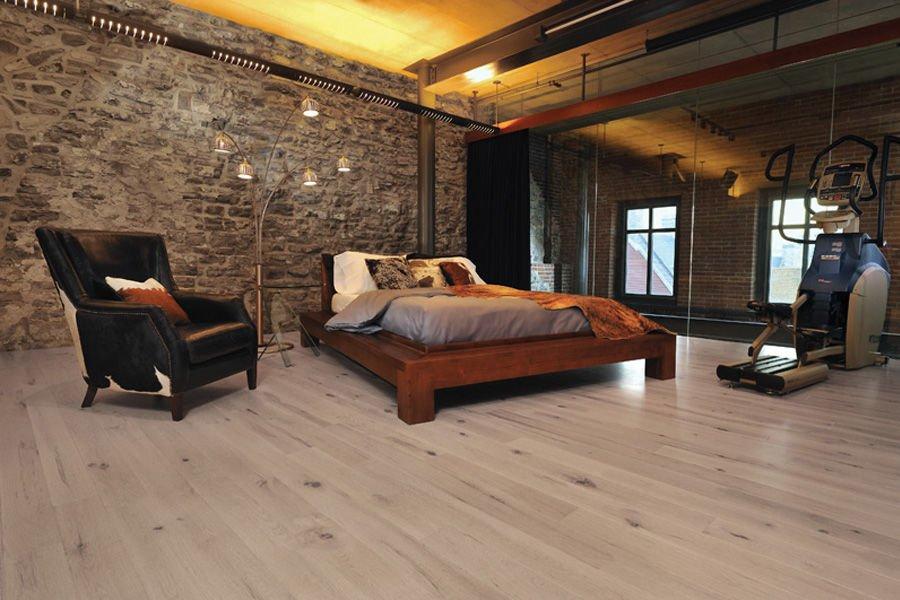 modern bedroom setting