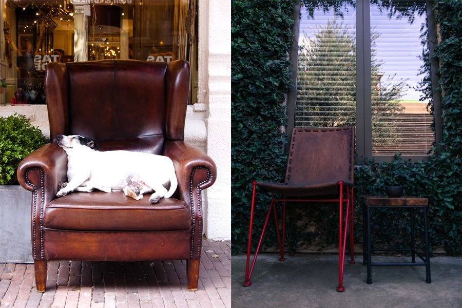 outdoor armchair ideal cozyness