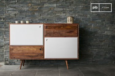 1969 wooden buffet