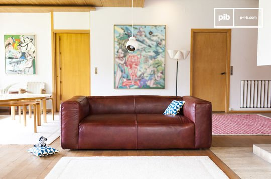 2 seat Krieger vintage sofa