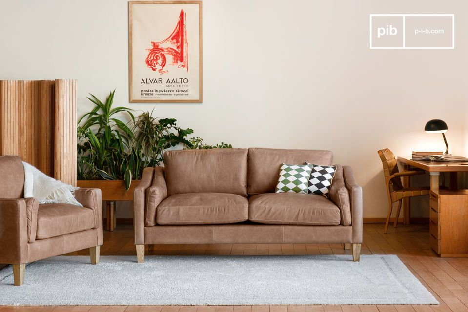Timeless elegance, excellent comfort and quality leather