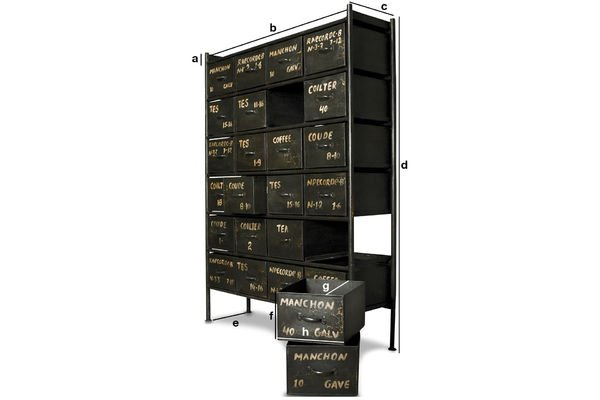 Product Dimensions 24 drawer workshop chest