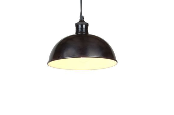 24cm black industrial ceiling light Clipped