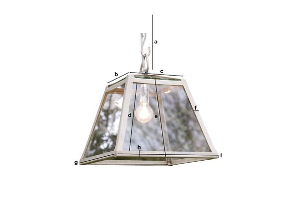 Product Dimensions 26cm Serre suspension light