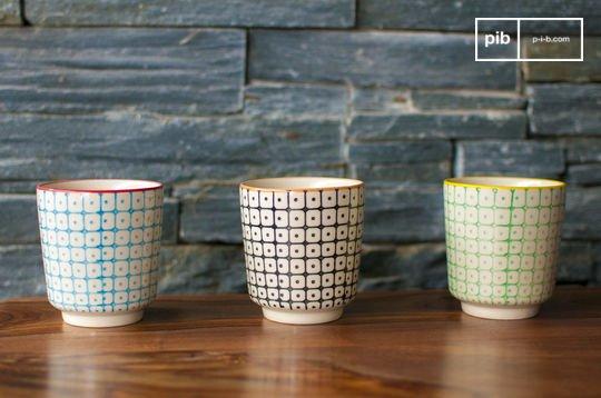 3 Brunï espresso cups