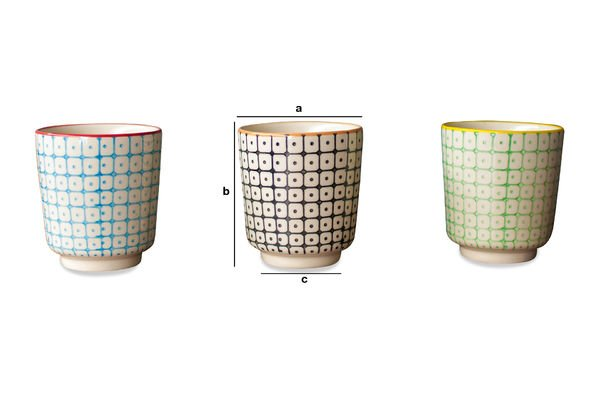 Product Dimensions 3 Brunï espresso cups