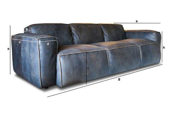 Product Dimensions 3 seat sofa Atsullivan