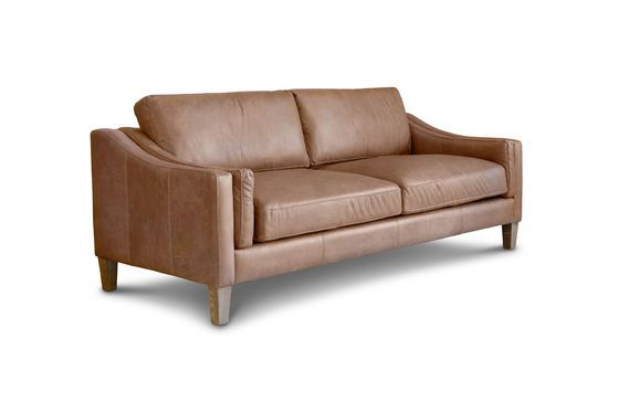 3-seater sofa Heidsieck cinnamon Clipped