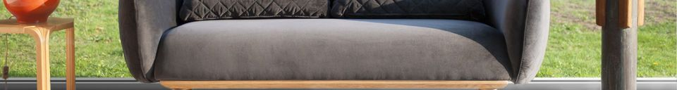 Material Details 3 Seater Sofa Olson