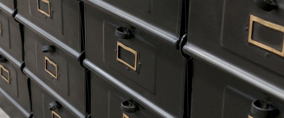 Industrial workshop chest