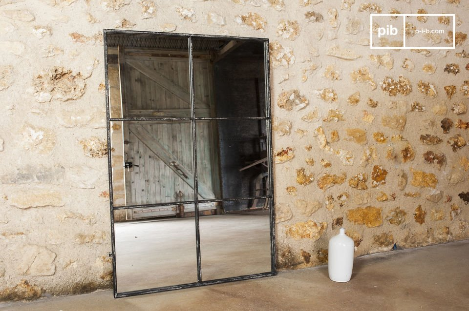 6 sections mirror 120 x 80 cm