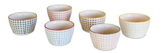 6 small Brüni bowls Clipped