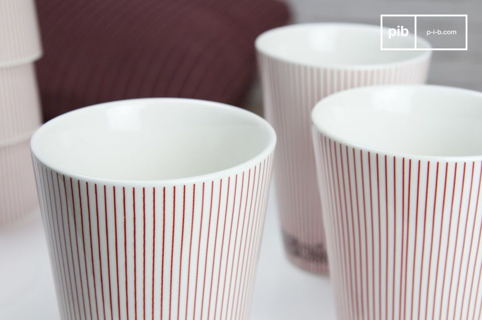 Porcelain cups with a delicious Scandinavian look