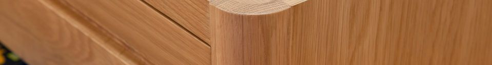 Material Details Aarne TV cabinet in light oak