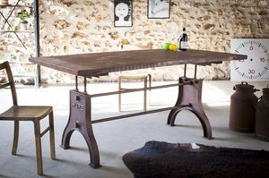 Adjustable Industrial table Silver Lake