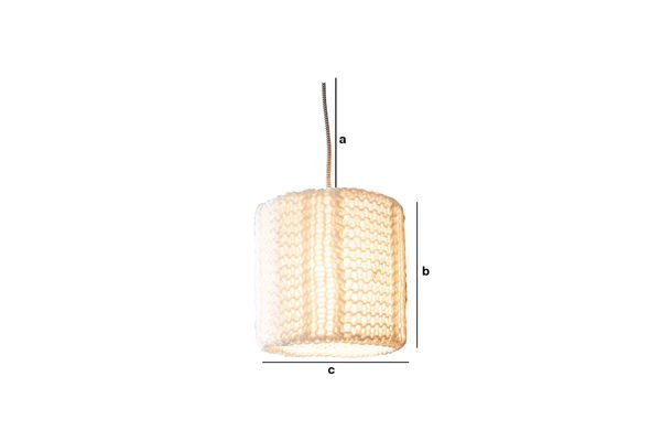 Product Dimensions Aguëla pendant Light
