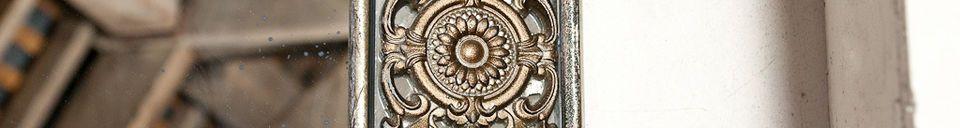 Material Details Aix-la-Chapelle mirror