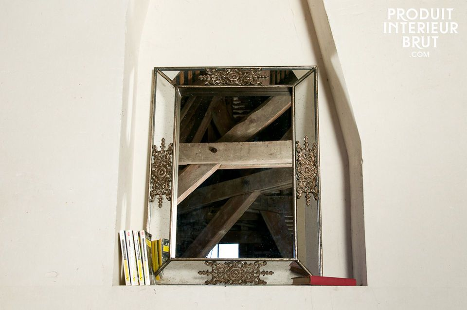 The distressed frame