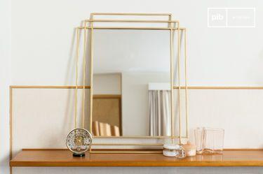 Alma golden mirror