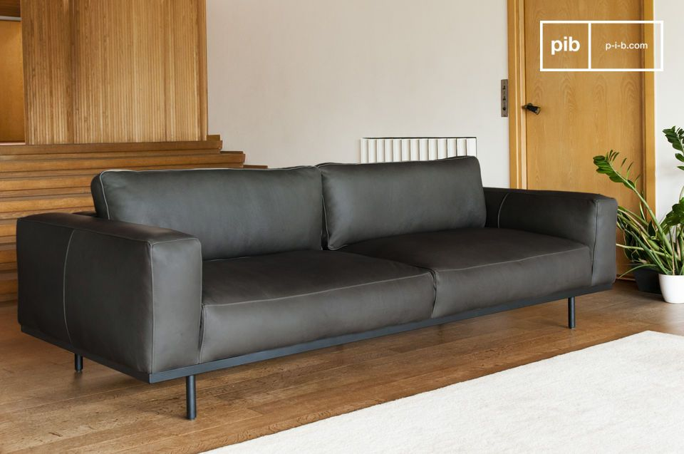 A large three-seater sofa, the heart of your living room.