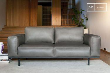 101d6df8658b Large Grey Montaigu Chesterfield Sofa   pib