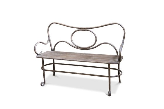 Alouette small bench Clipped