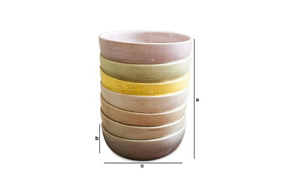 Product Dimensions Amalia Vase