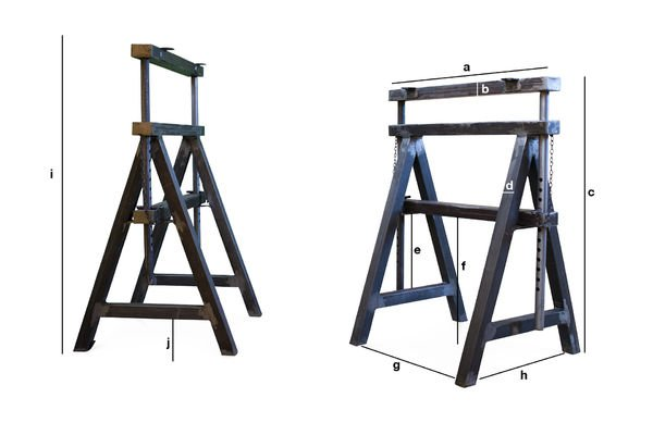 Product Dimensions Ambolt pair of trestles