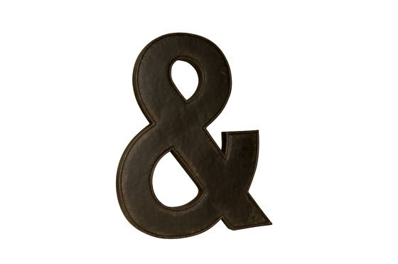 Ampersand sign letter Clipped