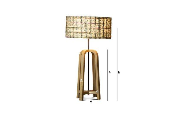Product Dimensions Andersen table lamp