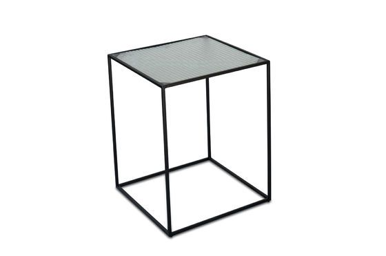Anne-Lise Glass Side Table Clipped