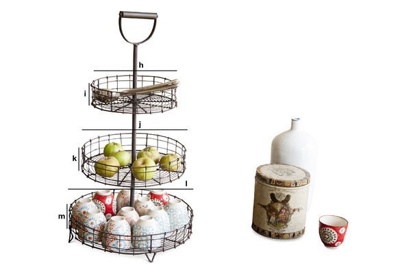Product Dimensions Annelle display