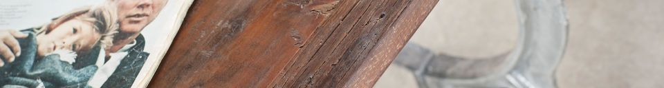 Material Details Antique teak table Tonnel